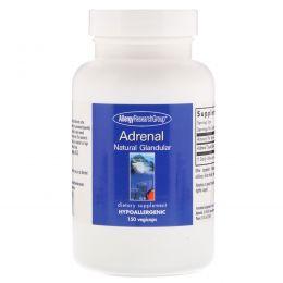 Allergy Research Group, Надпочечниковый препарат Натуральный железистый, 150 капсулы в растительной оболочке