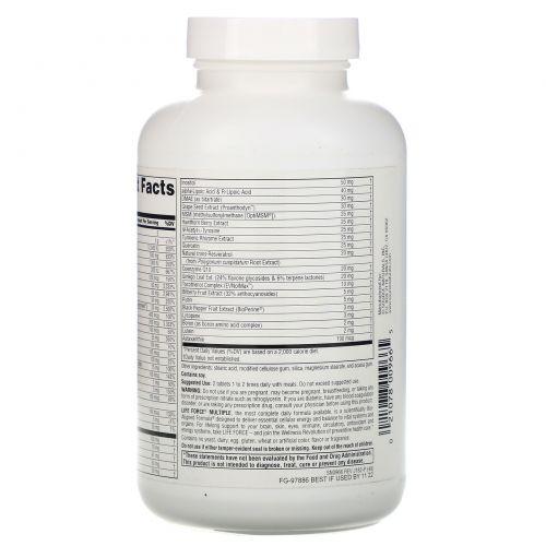 Source Naturals, Life Force Multiple, без железа, 120 таблеток