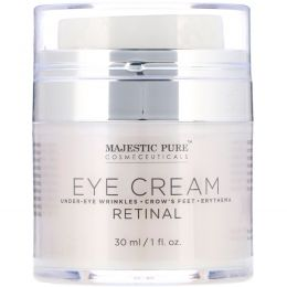 Majestic Pure, Eye Cream, Retinal, 1 fl oz (30 ml)