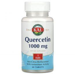 KAL, Quercetin, 1,000 mg, 60 Tablets