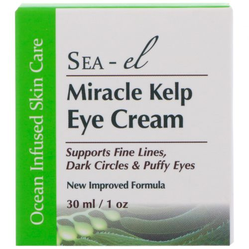 Sea el, Miracle Kelp, крем для области вокруг глаз с чудесными водорослями, 1 унция (30 мл)