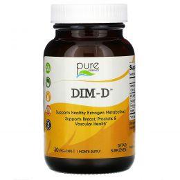 Pure Essence, Дим-D, 30 вегетарианских капсул