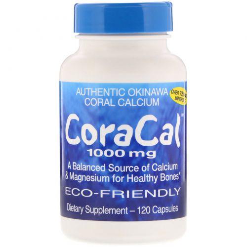 21st Century, КораКал, 1000 мг, 120 капсул