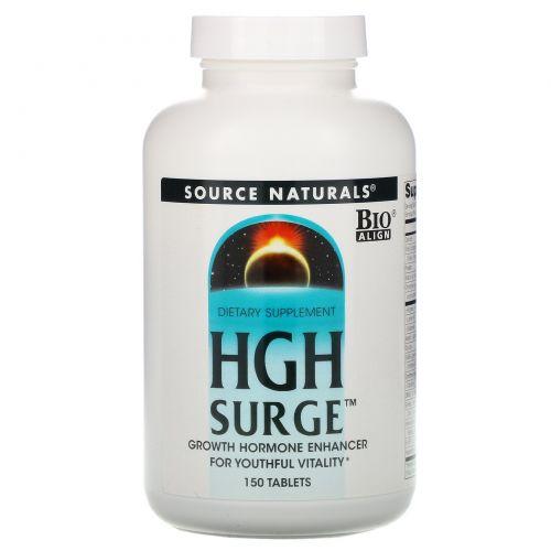 Source Naturals, HGH Surge, 150 таблеток