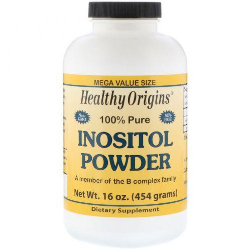 Healthy Origins, 100% Инозитол в порошке, 16 унций (454 г)