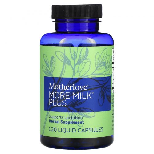 Motherlove, More Milk Plus, 120 жидких капсул