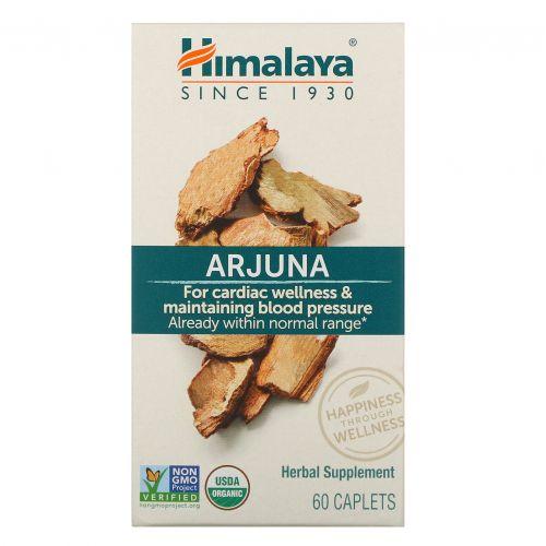 Himalaya Herbal Healthcare, Арджуна, кардиотоническое средство, 60 капсул