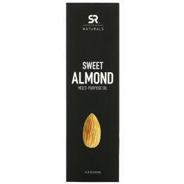 Sports Research, Многоцелевое масло сладкого миндаля, 16 ж. унц. (473 мл)