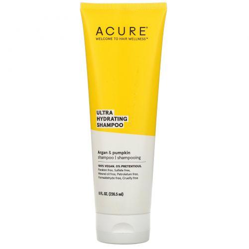 Acure, Ultra Hydrating Shampoo, Argan Oil & Pumpkin, 8 fl oz (236.5 ml)