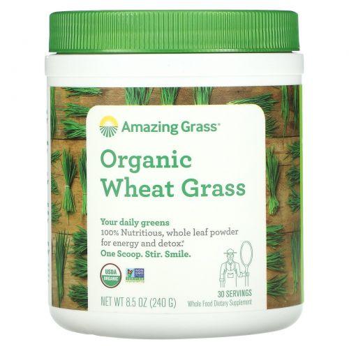 Amazing Grass, Органические ростки пшеницы, 8.5 унций (240 г)