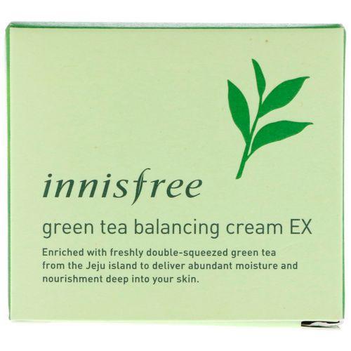 Innisfree, Green Tea Balancing Cream EX, 1.69 oz (50 ml)