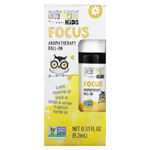 Aura Cacia, Kids, Aromatherapy Roll-On, 0.31 fl oz (9.2 ml)