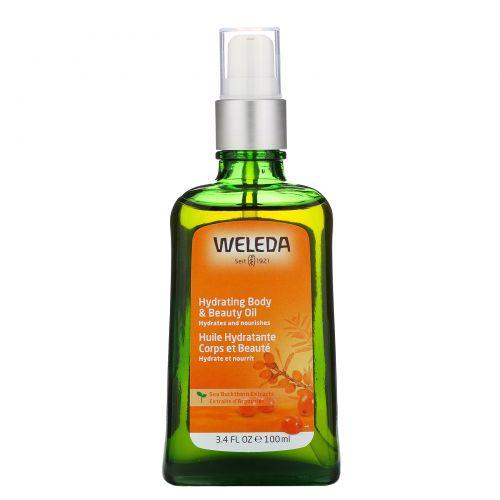 Weleda, Облепиховое масло для тела, 3.4 жидких унции (100 мл)