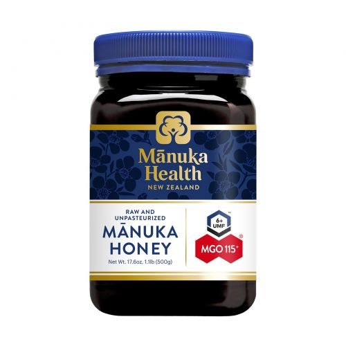 Manuka Health, Мед манука, метилглиоксал 100+, 1,1 фунта (500 г)