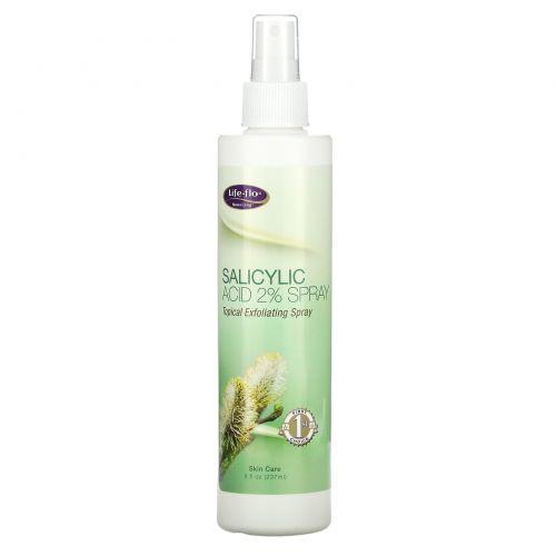 Life Flo Health, Спрей с салициловой кислотой, 8 жидких унций (237 мл)