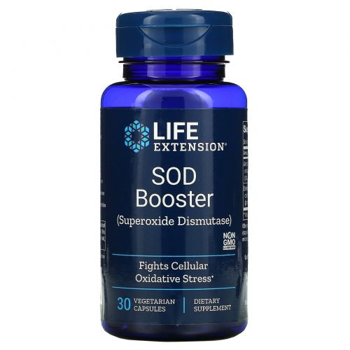 Life Extension, SOD Booster, 30 Vegetarian Capsules