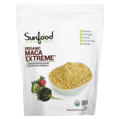 Sunfood, Натуральный органический мак, экстремальный, 227 г (8 унций)