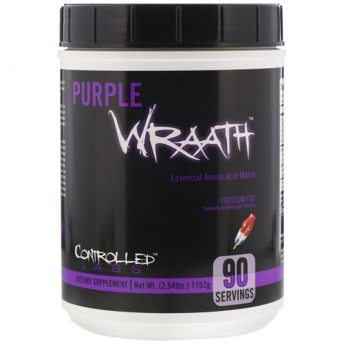 Controlled Labs, Purple Wraath, Freedom Pop, 1152 г (2,54 фунта)