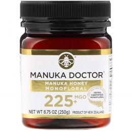 Manuka Doctor, Manuka Honey Monofloral, MGO 225+, 8.75 oz (250 g)