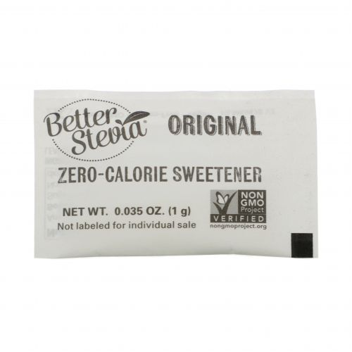 Now Foods, Лучшая стевия, подсластитель без калорий, натуральная, 100 пакетов, 3.5 унций (100 г)