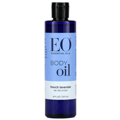 EO Products, Масло для тела, французская лаванда, 8 жидкие унции (236 мл)