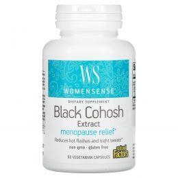 Natural Factors, WomenSense, Менопауза, клопогон кистевидный, экстракт 90 овощных капсул