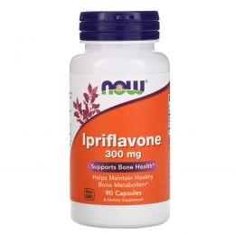 Now Foods, Иприфлавон, 300 мг, 90 капсул