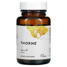 Thorne Research, Sacro-B, Saccharomyces Boulardii, 60 капсул в растительной оболочке