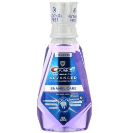Crest, Pro Health Advanced, Enamel Care Mouthwash, +Fluoride, Alcohol Free, 16.9 fl oz (500 ml)