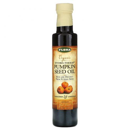 Flora, Органическое тыквенное масло Hydro-Therm, 8,5 жидких унций (250 мл)