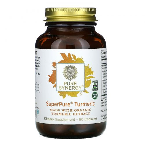 The Synergy Company, Organic SuperPure Turmeric Extract, 60 Organic Veggie Caps