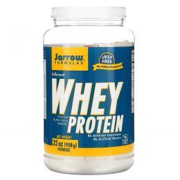 Jarrow Formulas, Cывороточный протеин, Без ароматизаторов, 32 унц. (908 г)