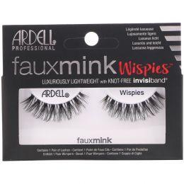 Ardell, Faux Mink, накладные ресницы Wispies, 1пара