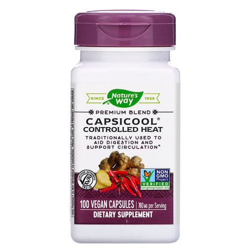 Nature's Way, CapsiCool, Controlled Heat, 100 Veg. Capsules