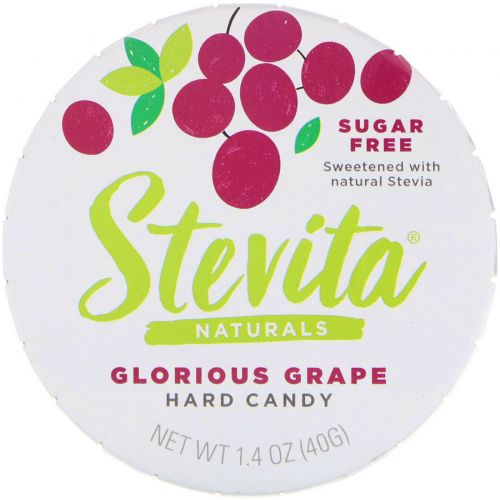 Stevita, Grape Hard Candy, Sugar Free