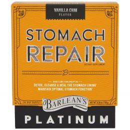 Barlean's, Восстановление желудка, ванильный чай, 180 г (6,35 унций)