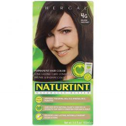 Naturtint, Перманентная краска для волос, 4G золотой каштан, 165 мл