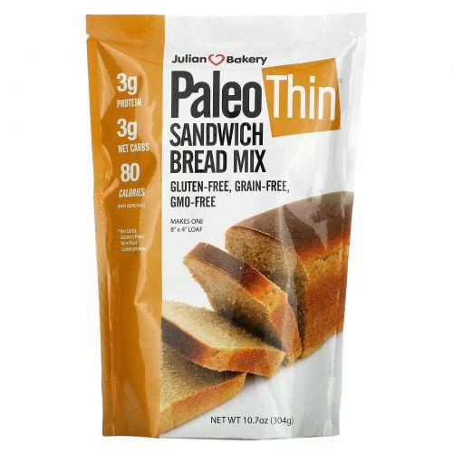 The Julian Bakery, Палео-микс для выпечки хлеба, 304 г (10,7 унции)