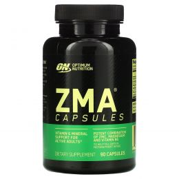 Optimum Nutrition, ZMA, 90 капсул