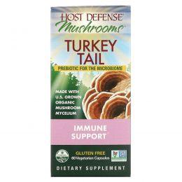 Fungi Perfecti, Host Defense, Turkey Tail, 60 NP Caps