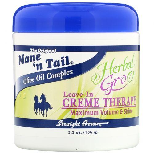 Mane 'n Tail, Herbal Gro, Несмываемый крем для волос, 5,5 унций (156 г)