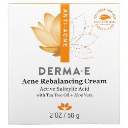Derma E, Увлажняющий крем Very Clear Moisturizing Cream, комплекс против дефектов кожи, 56 г (2 унции)