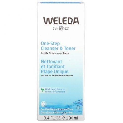 Weleda, Очищающее средство и тоник, 3,4 жидких унций (100 мл)