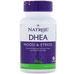 Natrol, ДГЭА, 10 мг, 30 таблеток