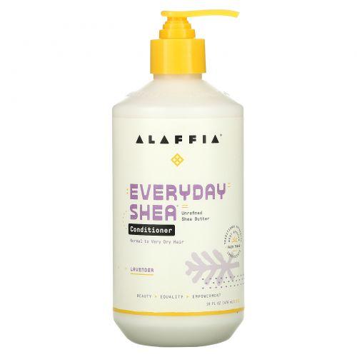 Everyday Shea, Conditioner, Lavender, 16 fl oz (475 ml)