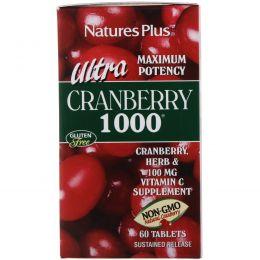 Nature's Plus, Ультра Клюква 1000, 60 таблеток