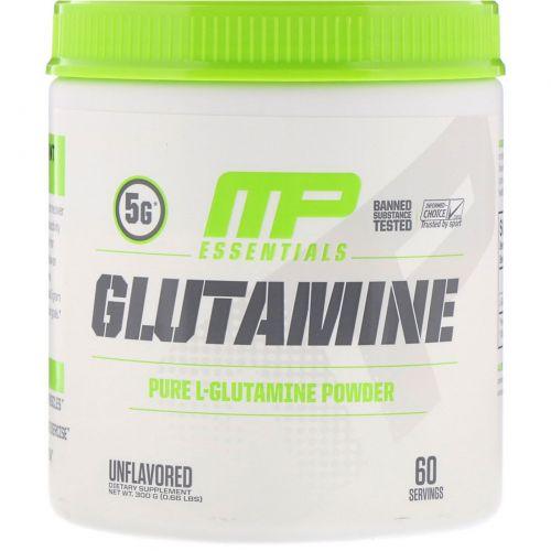 MusclePharm, Glutamine Essentials, Unflavored, 0.66 lb (300 g)