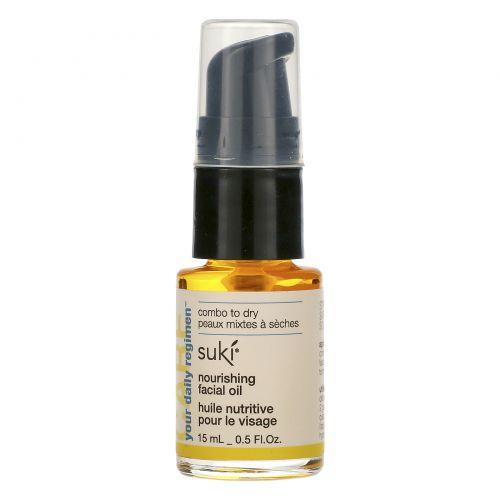 Suki Inc., Care, питательное масло для лица, 0.5 жидких унций (15 мл)
