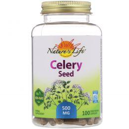 Nature's Herbs, Семя сельдерея, 100 капсул