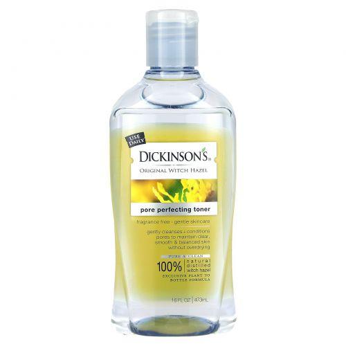 Dickinson Brands, Dickinson Brands, Тоник для очищения пор, натуральный гамамелис, 16 жидких унций (473 мл)